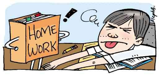 the homework